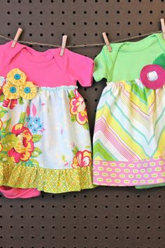 I know some lil baby girls who arr gonna get these Onesie Dress