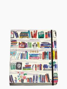 2015 17-month Large Agenda - Bella Bookshelf
