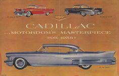 Cadillac Sedan de Ville, Cadillac Eldorado Seville & Cadillac Sixty Special