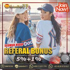 Raih Kemenangan Bersama Kami ^^ Bonus Promo Mengejutkan dari Asianbet77 .id Daftarkan diri anda dari sekarang ⚽️⚽️ Hubungi Kami Melalui: LIVECHAT: Asianbet77.id BBM : D86F3C3D LINE : asianbet77 WA : +855 11 811 770