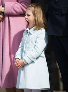 Princess Estelle of Sweden attends celebrations of the Swedish Armed Forces for the 70th birthday of King Carl Gustaf of Sweden on April 30 2016 in...