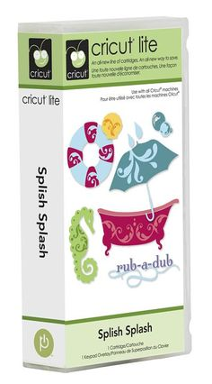 $39.99  Cricut® Lite Splish Splash Cartridge - Cricut Shop