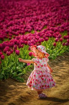 Tulip Festival Princess! by Randy A. Eckert on 500px