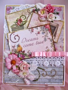 Flowers, Ribbons and Pearls: Scrapberrys