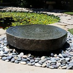 Natural-Millstone-Fountains