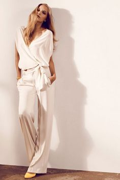 brides of adelaide magazine - white pantsuit - wedding dress