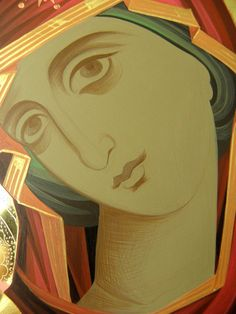 Iconar Eleni Dadi – icoana Byzantine Icons, Byzantine Art, Religious Icons, Religious Art, 3 4 Face, Greek Icons, John Chrysostom, Art Icon, Orthodox Icons