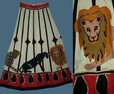 Fabric inspiration: vintage circus skirt