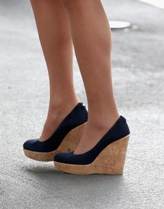 Kate Middleton's wedges on day 2 of their Tour of Asia.