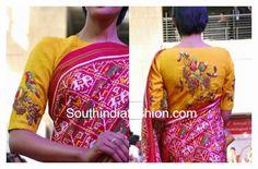Pochampalli blouse