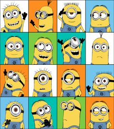 Shop fabric of your favorite TV show and movie characters at JOANN. Find fabric from Disney, Frozen, Minions, Walking Dead, Avengers superheros and more! Minion Painting, Minion Drawing, Minion Art, Cute Minions, Minion Stuff, Minions Minions, Evil Minions, Funny Minion, Minion Humor