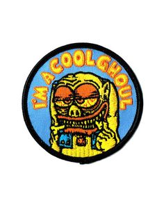 Cool Ghoul Patch – Strange Ways