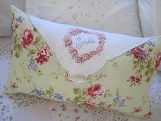 new life for torn vintage napkins...pretty  http://www.elefantzhome.blogspot.com.au/