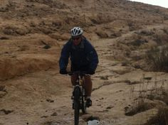 Yes, you can ride a bike in the Negev desert...