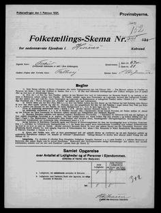Søren Chr Jensen - 1921 Danmark Folketælling - MyHeritage
