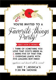 favorite-things-invite