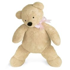 North American Bear Company Smushy Bear, Pink, Large