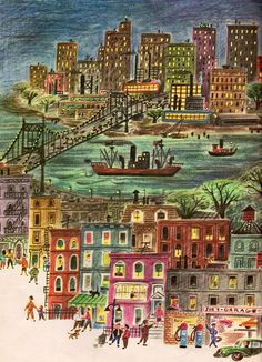 Our New Home in the City by Leo Israel, illustrated by Ruth Ruhman, 1963.