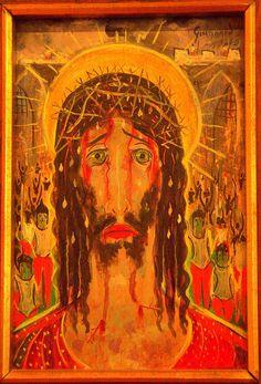 DSC_0049.NEF - Cabeça de Cristo, de Alberto da Veiga, Guignard,museu de arte do Rio de janeiro, Brasil.
