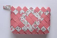 Candy Wrapper Bag, handmade clutch bag, vintage bag, coin purse