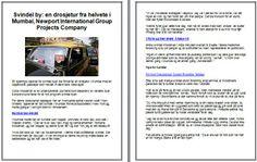 Svindel by: en drosjetur fra helvete i Mumbai, Newport International Group Projects Company