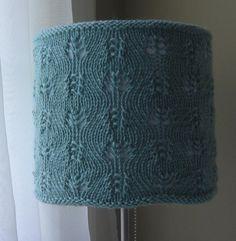 Gentle Swirls Lampshade Cozy pattern on Craftsy.com