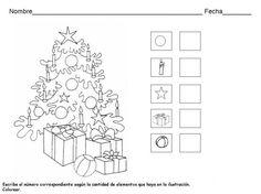Werkblad kerstboom
