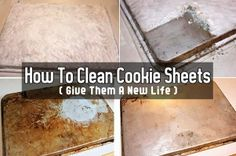 How to Clean Old Cookie Sheets (Give Them A New Life)