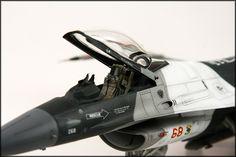 1/48 Tamiya F-16C Arctic Aggressor