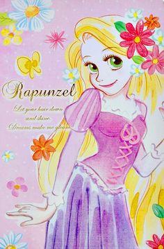Disney Store Japan, Disney Princess, Tangled, Rapunzel