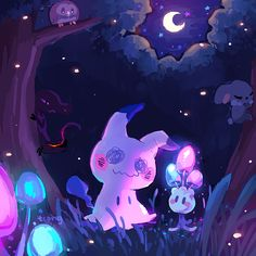 "tcongdraws: ""took the time to doodle some of my favorite alola pokemon "" Ghost Pokemon, Pokemon Alola, Pokemon Comics, Pokemon Memes, Pokemon Fan Art, Chandelure Pokemon, Pokemon Fantasma, Ghost Type, Cute Pokemon Pictures"