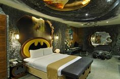 """The Eden Motel in Kaohsiung may have the wildest theme rooms, even a """"Batman"""" room."""