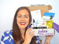 UNBOXING: Jules Wellness Box -March- | Boxing Unboxing