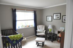 Nursery - perfect taupe Behr