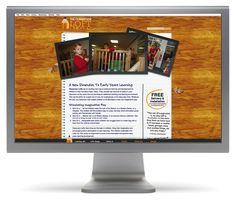 Classroom Lofts Website #website #webdesign #education #play