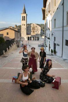 Spoleto by Steve McCurry in Sensational Umbria | www.regioneumbria.eu