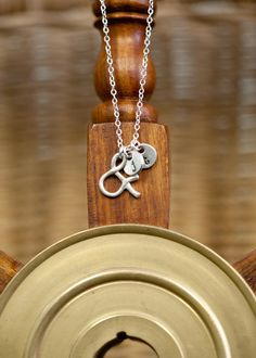 Ampersand necklace @ lisa leonard