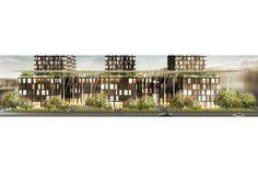 Dominique Perrault Architecture - Vulcano - Housing, offices, retail