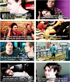 Imagine: You and Michael have a playful relationship where you tease each other non-stop (c) @5SOS_Imagining
