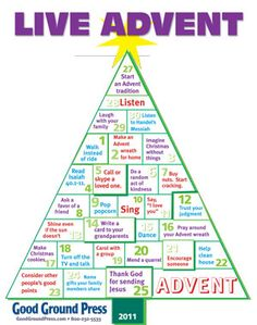 Free Advent poster - great activities.