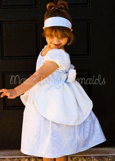 Cinderella Ball Gown Dress everyday princess by madeformermaids Run Disney Costumes, Tutu Costumes, Princess Dress Patterns, Princess Dresses, Everyday Princess, Slender Girl, Made For Mermaids, Cinderella Dresses, Cinderella Play