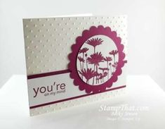 Stampin' Up! Upsy Daisy stamp set