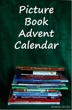 Have you ever made a picture book advent calendar to read with your kids leading up to Christmas? This post has great book suggestions!