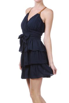 Claire Dress in Navy