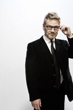 Sir Kenneth Branagh--My all-time favorite actor and director ever.  The man who single-handedly taught me to love Shakespeare.