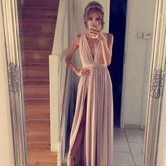 Charming Prom Dress,Sleevelss Long Prom Gown,Sexy Prom Dresses,Long - #blouse