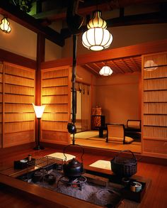 building a japanese harth | Look of Ryoutei Yasui