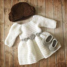 Princess Leia Inspired Costume/ Crochet Princess Leia Wig/Star