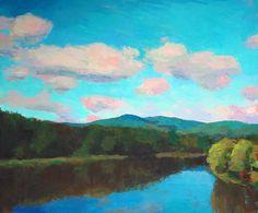 Larry Horowitz River oil Dimension: 36 x 46