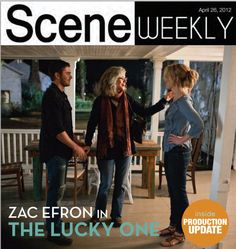 Scene Weekly - Cover.  April 26, 2012 Issue